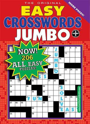 Latest issue of Easy Crosswords Jumbo Special