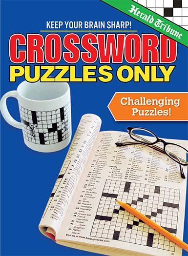 Latest issue of Crossword Puzzles Only