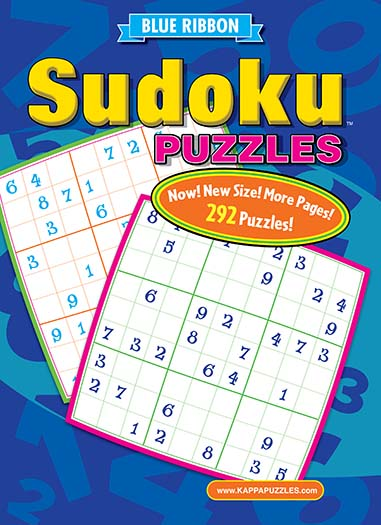 Latest issue of Blue Ribbon Sudoku Puzzles
