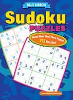 Blue Ribbon Sudoku Puzzles 1 of 5