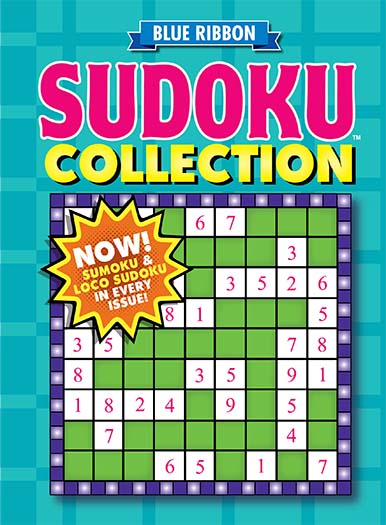 Latest issue of Blue Ribbon Sudoku Collection