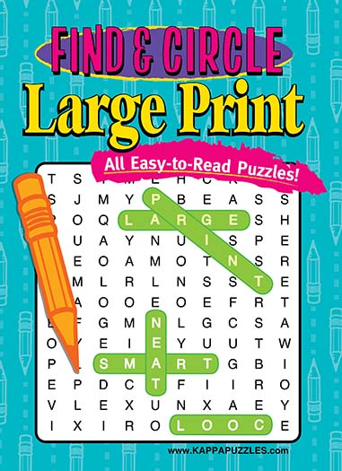 Latest issue of Find Circle Large Print