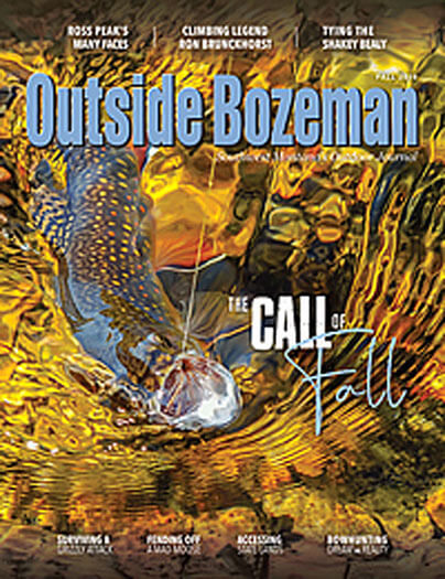 Latest issue of Outside Bozeman Magazine