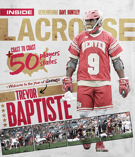 Latest issue of Inside Lacrosse