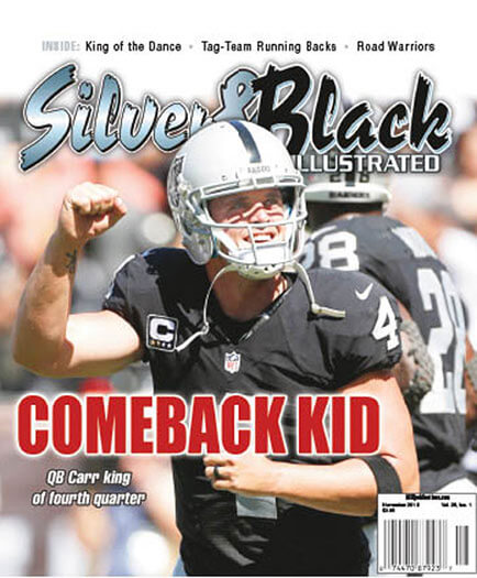 Latest issue of Raiders Silver & Black Illustrated