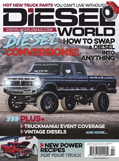 Latest issue of Diesel World