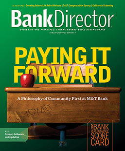 Latest issue of Bank Director