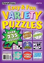 Approved Easy & Fun Variety Puzzles 1 of 5