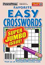 Favorite Easy Crosswords 1 of 5