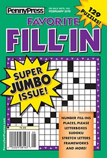 Latest issue of Penny's Favorite Fill-In Magazine