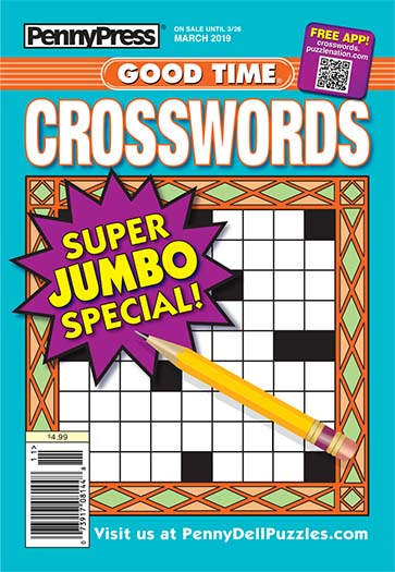 Latest issue of Good Time Crosswords