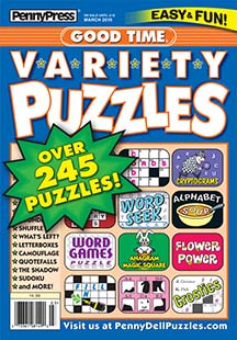 Latest issue of Good Time Variety Puzzles