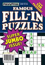 Penny's Famous Fill-In Puzzles 1 of 5