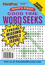 Penny's Finest Good Time Word Seeks 1 of 5