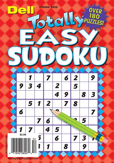 Latest issue of Totally Easy Sudoku Magazine