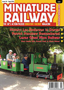 Latest issue of Miniature Railway Magazine