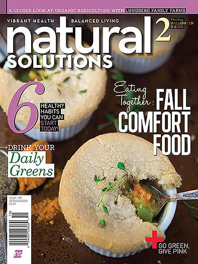 Latest issue of Natural Solutions