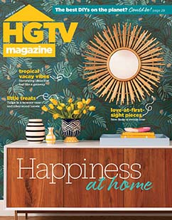 Latest issue of HGTV Magazine
