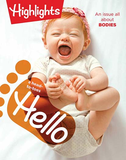 Latest issue of Highlights Hello