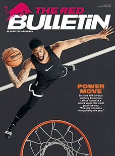 Latest issue of Red Bulletin Magazine
