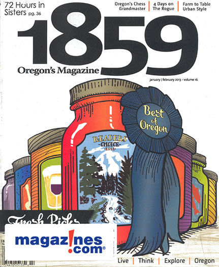 Latest issue of 1859 Oregons