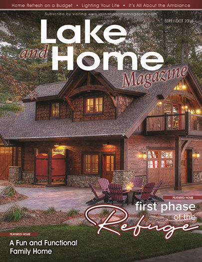 Latest issue of Lake and Home