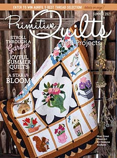 Latest issue of Primitive Quilts & Projects