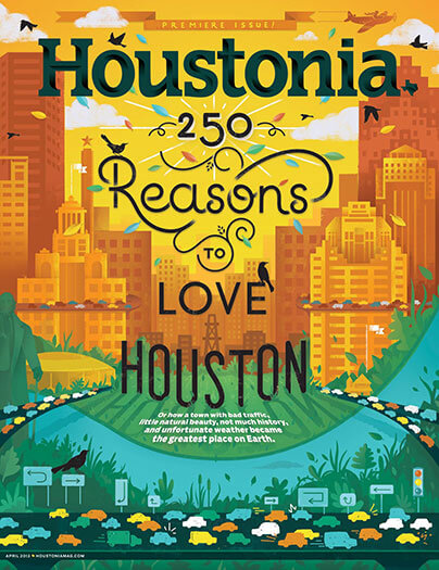 Latest issue of Houstonia Magazine