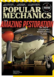 Latest issue of Popular Mechanics
