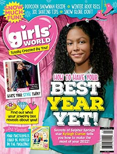 Latest issue of Girls' World