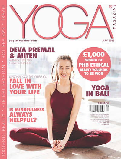 Latest issue of YOGA Magazine