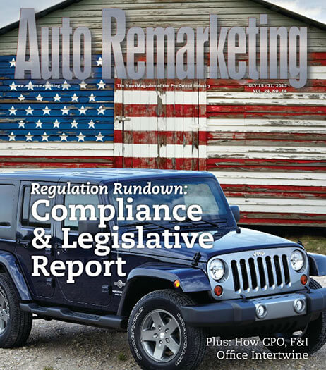 Latest Issue of Auto Remarketing News Magazine