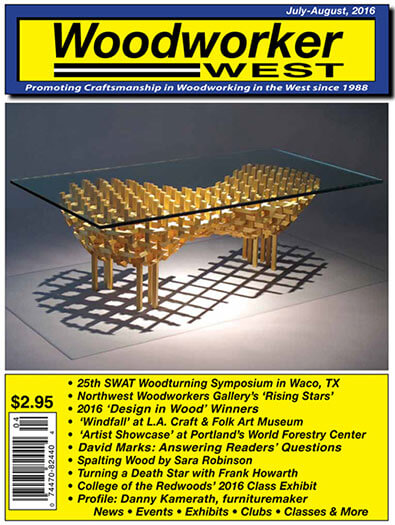 Latest issue of Woodworker West Magazine