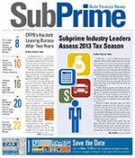 SubPrime Auto Finance News 1 of 5