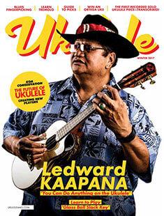 Latest issue of Ukulele Magazine