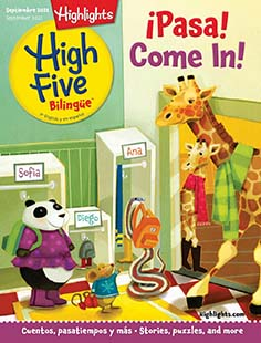 Latest issue of Highlights High Five Bilingue