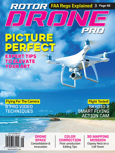 Latest issue of Rotor Drone Magazine