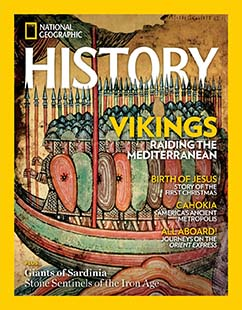 Latest issue of National Geographic History