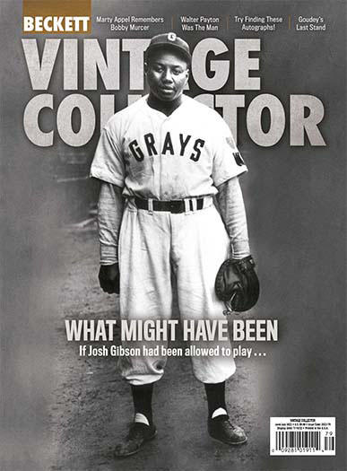 Latest issue of Beckett Vintage Collector