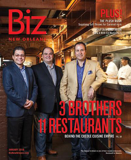 Latest issue of Biz New Orleans