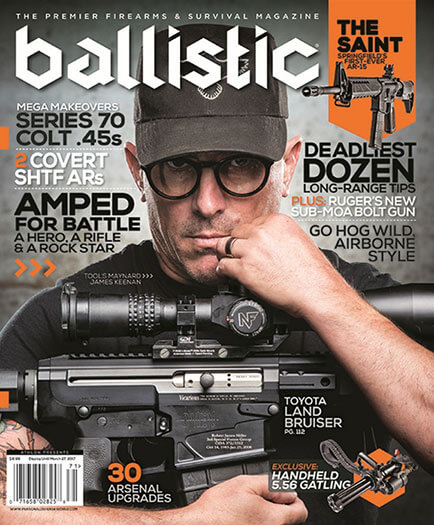 Latest issue of Ballistic