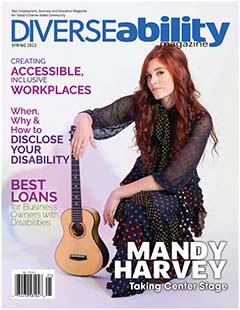 Latest issue of Diverseability Magazine