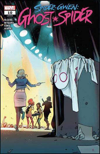 Latest issue of Spider-Gwen: Ghost Spider Magazine