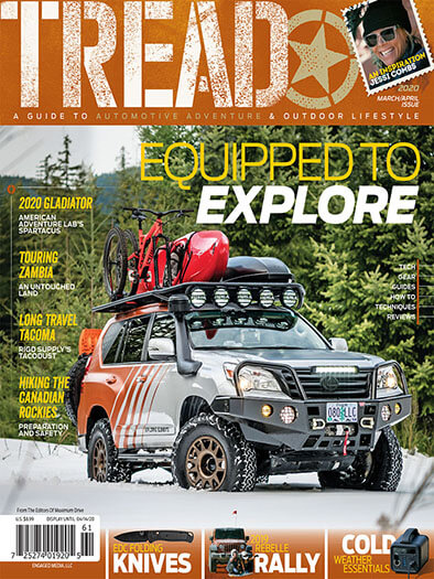 Latest issue of Tread Magazine