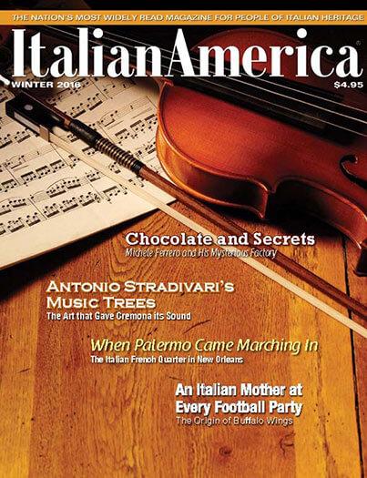 Latest issue of Italian America Magazine