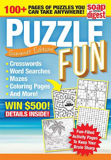 Latest issue of Puzzle Fun Magazine