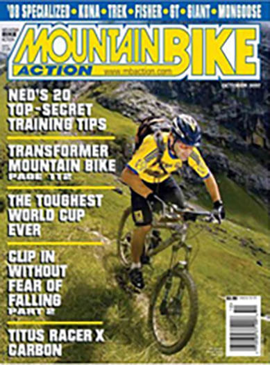 Latest issue of Mountain Bike Action Magazine