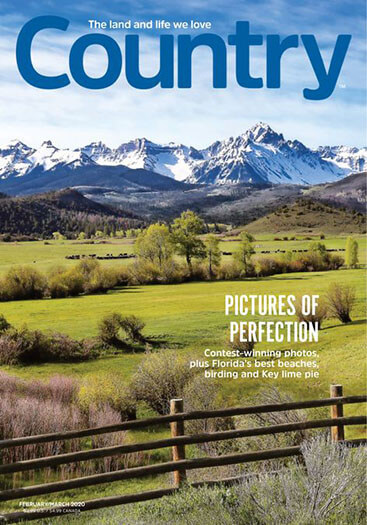 Latest issue of Country Magazine