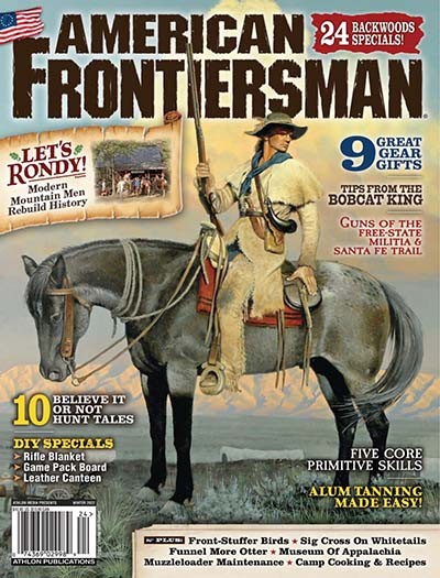 Latest issue of American Frontiersman