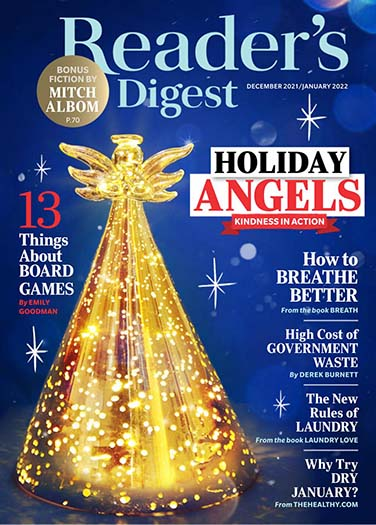 Latest issue of Reader's Digest Magazine